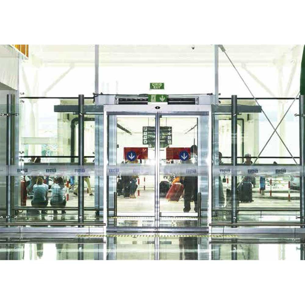 Αυτόματες συρόμενες πόρτες εισόδων αλουμινίου