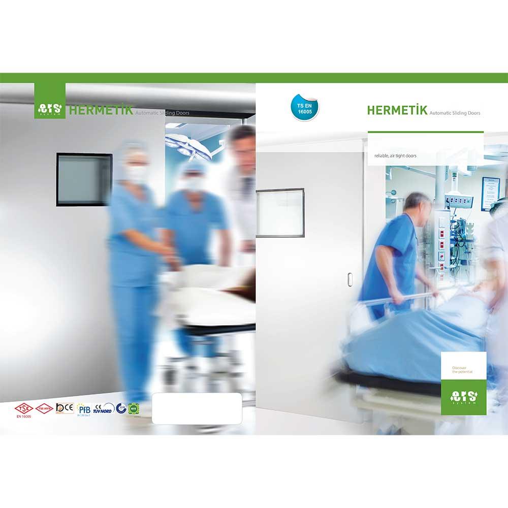 Αυτόματες συρόμενες πόρτες χειρουργίων Hermetik