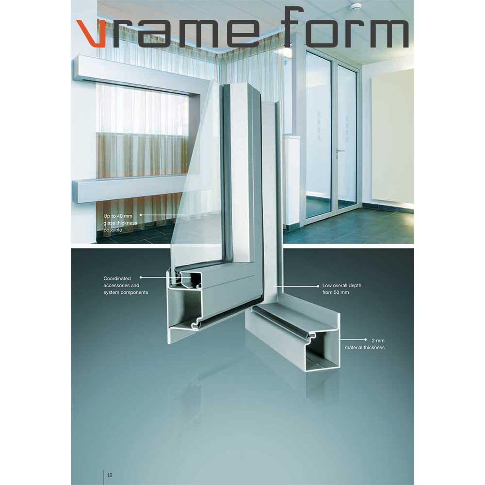 Πυράντοχα υαλοστάσια Vrame Form