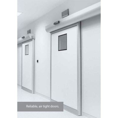 Αυτόματες συρόμενες πόρτες χειρουργίων